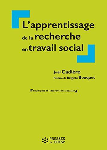 Apprentissage de la recherche en travail social