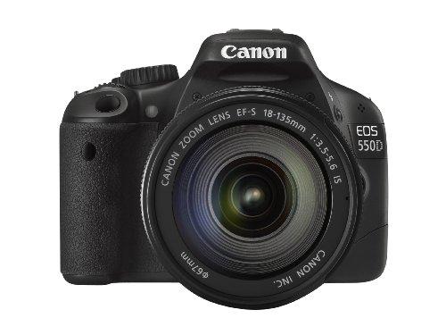 Canon EOS 550D Digital SLR Camera (inc 18-135 mm f/3.5-5.6 IS Lens Kit)