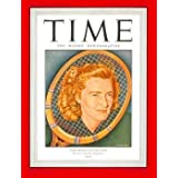 Pauline Betz / TIME Cover: September 02, 1946, Art Poster by TIME Magazine