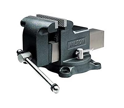 Wilton Model WS8 Jaw Width 8-Inch Throat Depth 4-Inch Shop Vise by WMH Tool Group