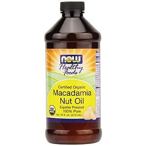 NOW Foods Certified Organic Macadamia Nut Oil -- 16 fl oz