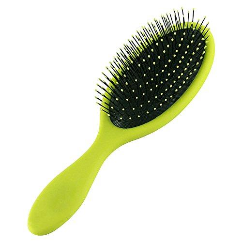 hair-brush-detangling-shower-brush-prevent-hair-knotted-green