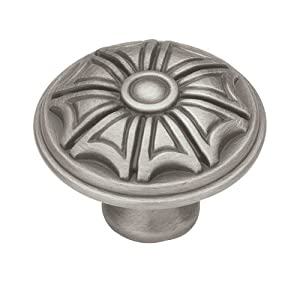 Liberty PBF140-BSP-C 40mm French Huit Cabinet Hardware Knob