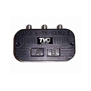 Amazon.com: New Cable TV Push Button A/B Switch (Cable