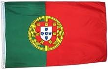 MM Portugal Bandera/bandera, resistente a la intemperie, multicolor, 150x 90x 1cm, 16294
