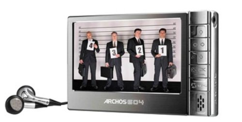 Christmas Archos 604 30 GB Ultraslim Portable Digital Media Player and Recorder (500860) Deals