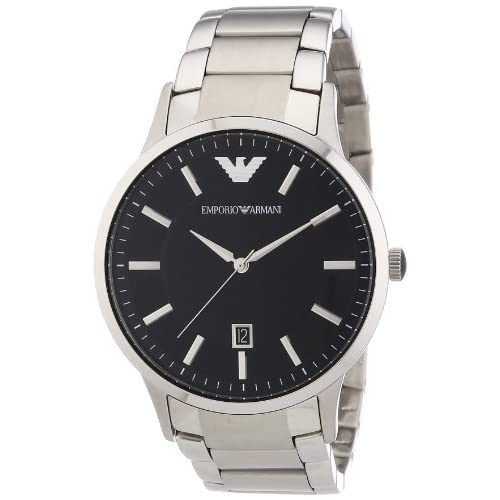 Emporio Armani Men's Quartz Watch AR2457 AR2457 with Metal Strap