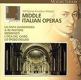 モーツァルト大全集 第16巻:中期イタリア・オペラ(全5曲)