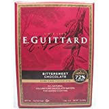 E. Guittard Bittersweet Chocolate 72% Cacao Disc Wafers 16 Oz.