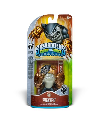 Skylanders SWAP Force Core Individual Character Pack- Knockout Terrafin