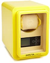 Invicta 10385 Yellow Multi-Function 1 Slot High-End Winder Watch