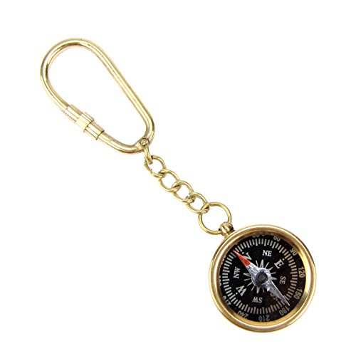 Pocket Compass Keychain
