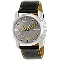 Fastrack Midnight Party Analog Grey Dial Men's Watch - 3097SL01