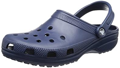 Crocs Classic Clog,Navy,Women's 12 M US/Men's 10 M US