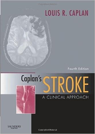 Caplan's Stroke: A Clinical Approach, 4e written by Louis Caplan MD
