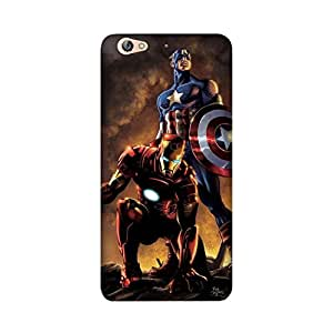 StyleO Gionee S6 Designer Printed Case & Covers (Gionee S6 Back Cover) - Iron Man Captain America