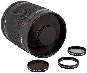 Rokinon 500M-EOS 500mm F8.0 Mirror Lens for Canon EOS
