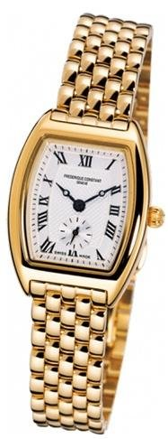 Frederique Constant  Watches weekly special: Frederique Constant Art Deco Gold-Tone Ladies Watch FC-235M1T25B