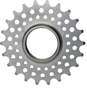 Track Cog 21T 1/2X1/8 SILVER CHROMOLY