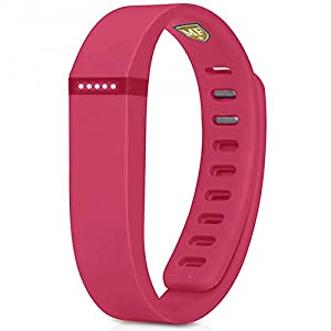 Multi Colors Replacement Wrist Band for Fitbit Flex With Clasps (Large and Small)