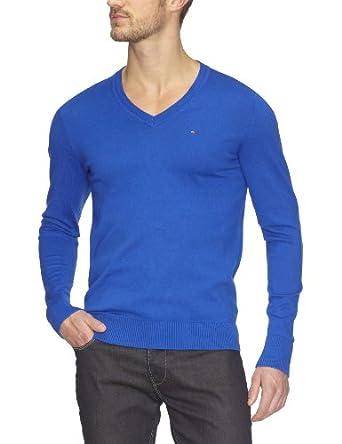 Hilfiger Denim - Pull - Homme - Bleu (Surf The Web) - L