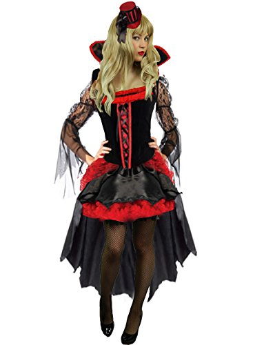 [Yummy Bee Womens Vampire Wicked Queen Halloween Costume Size 2 - 4] (Scary Bee Costume)