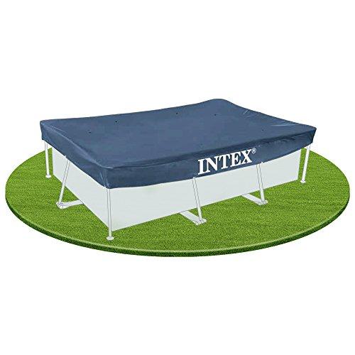 Intex - Cobertor piscina rectangular, 300 x 200 cm (56058)