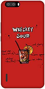The Racoon Lean Cherry Whiskey Sour hard plastic printed back case / cover for Huawei Honor 6 plus