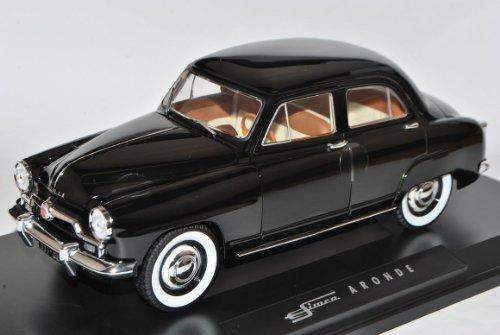Simca Aronde 1953 Schwarz 1/18 Norev Modell Auto