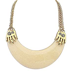 Necklaces Plastic Link Chain Zinc Collares Moon Necklace A5: Jewelry