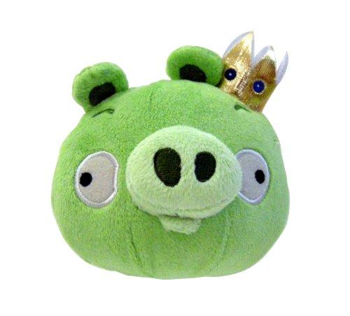 Imagen de Angry Birds de peluche de 5 pulgadas Rey Cerdo con Sonido