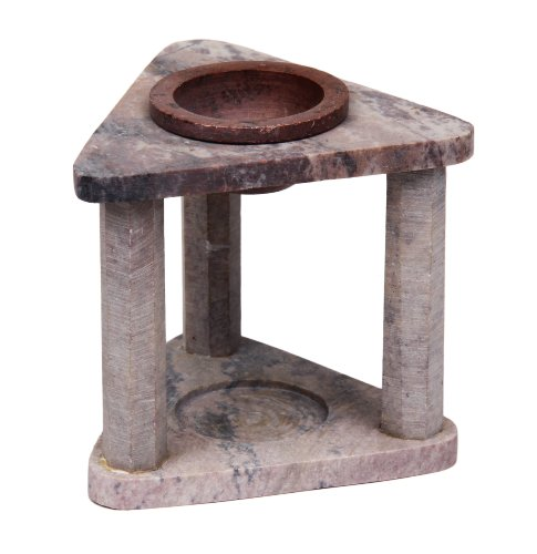 Christmas Gifts Decorative Natural Marble Oil Burner with Tea Light Candle Holder Gift Ideas for Men & Women