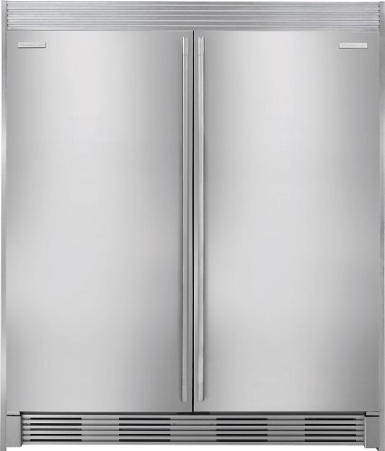 Electrolux Icon Stainless Built in All Refrigerator & All Freezer w/ Trim Kit | eBay