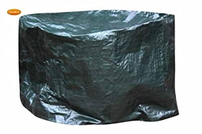 Extra Large Waterproof Firepit Firebowl Cover To Fit Fire Pit Up To 110cm Diameter X 65cm High - Suitable For Clay Metal Fire Bowl by HomeAndGarden.UK