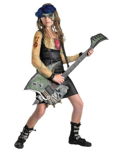 Kids-Costume Heartbreak Rocker Kids Costume 14-16 Halloween Costume