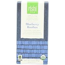 Rishi Tea Blueberry Rooibos, 3 Ounce