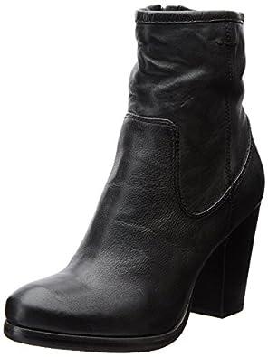FRYE Women's Patty Artisan Zip Bootie,Black,5.5 M US
