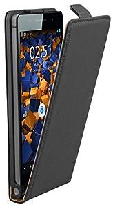 mumbi Flip Case Huawei Ascend P6 Tasche schwarz