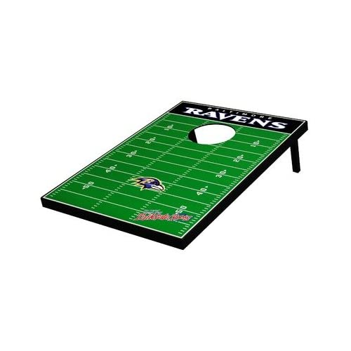 Magnificent Baltimore Ravens Decal Football Bean Bag Toss Game Evergreenethics Interior Chair Design Evergreenethicsorg