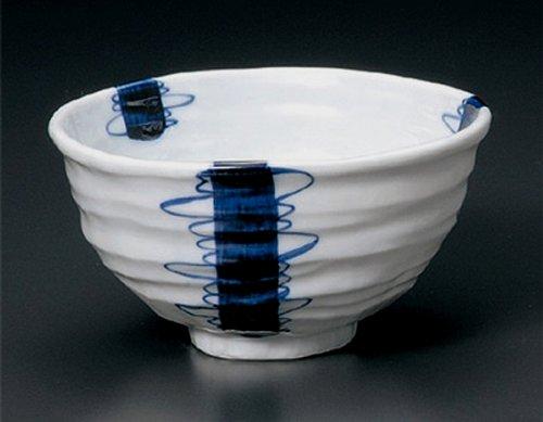 Mitsuwari-Togusa Jiki Japanese Porcelain Set Of 5 Ramen-Bowls For Udon,Soba,Teriyaki-Bowl Made In Japan