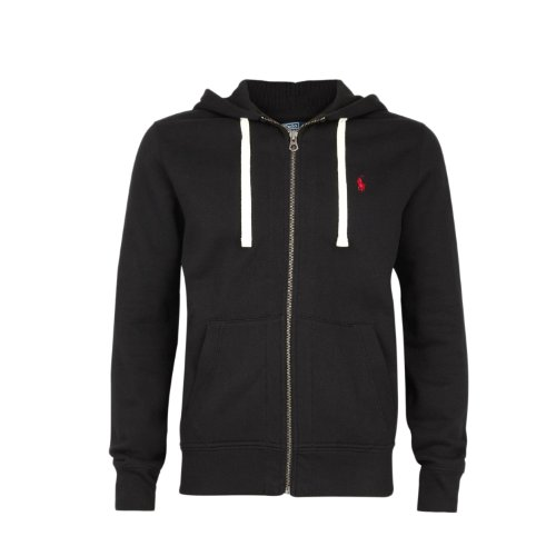 RALPH LAUREN POLO MENS FLEECE/ HOODIE JUMPER BLACK S/M/L/XL/XXL BNWT (M)