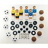 Hergestellt für DEMA Tischfussball Fußball Ersatzteilset f. 70129
