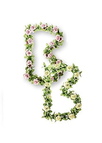 Basil-Blumengirlande-Fahrrad-Lenkerblume-Deko-RosesGarland-Farbe-pink