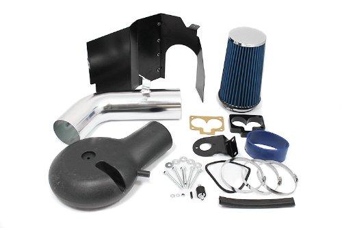 97 98 Dodge Dakota / 98 99 00 01 02 03 Durango V8 5.2L / 5.9L Heat Shield Intake Blue (Included Air Filter) #Hi-Dg-1B