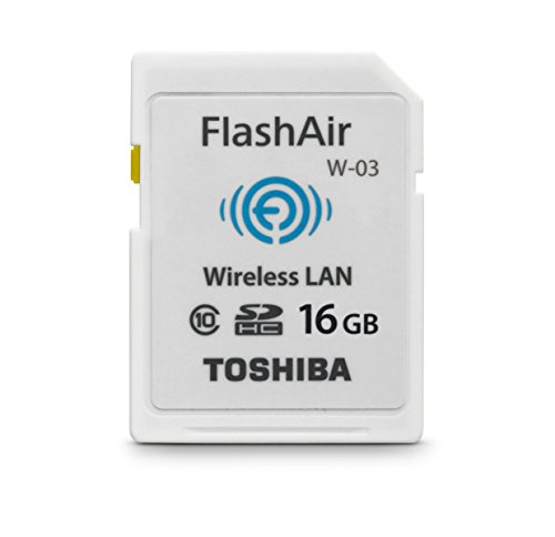 Toshiba Flash Air III Wireless SD Memory Card 16GB (PFW016U-1CCW) (Sd Toshiba Wi Fi compare prices)