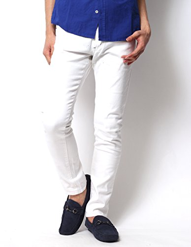 (リピード) REPIDO スキニー スキニーパンツ スーパーストレッチスキニーパンツ メンズ デザイナーズ スリム フィット チノパンツ