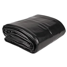 Sunterra 302212 14-Foot X 14-Foot PVC Pond Liner, Black