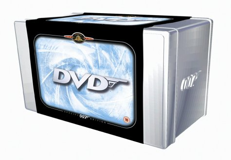 The James Bond Collection - 20 Disc Box Set  [DVD]