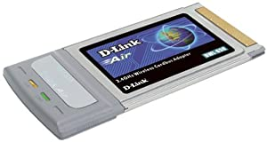 D-Link DWL-650 Wireless Cardbus Adapter, 802.11b, 11Mbps