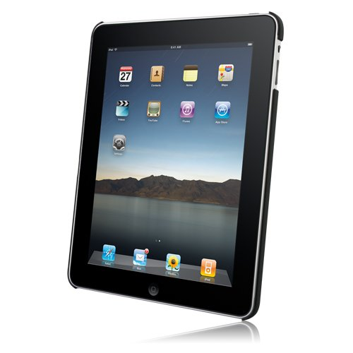Hypercel Rubberized SnapOn Cover for Apple iPad - Black